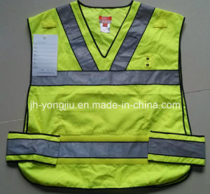 V-Neck Paste Reflective Safety Vest