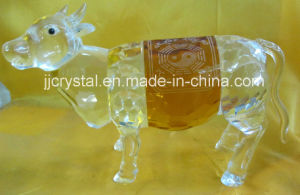 Clear Crystal Animal Carving for Table Decoration or Holiday Gifts pictures & photos