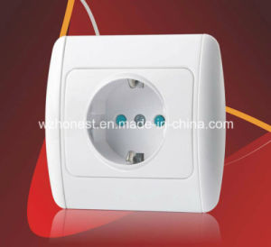 European Type of Electrical Wall Switches 1 Gang 2 Gang Doudbe Electric Socket Wall Mounted Switch pictures & photos