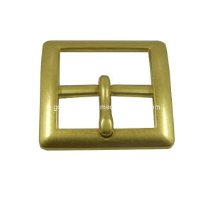 Custom Zinc Alloy Pin Buckle in Oeb Color pictures & photos