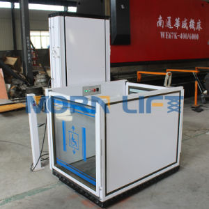 Vertical Hydraulic Wheelchair Lift for The Disabled pictures & photos
