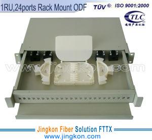 Slidable Fiber Optic Patch Panel