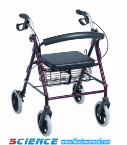 Aluminum Foldable Rollator (SC-RL03(A)) pictures & photos