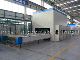 HPW Flat/Bend Glass Tempering Furnace