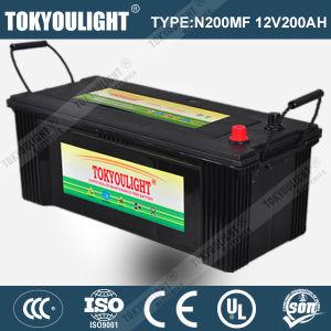 JIS Standard Maintenance Free Truck Battery with N200mf 12V200ah
