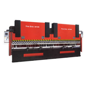Large CNC Hydraulic Press Brake for Light Pole (WC67K-500t 6000 E200) pictures & photos