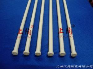 Ceramic 99% Alumina Flange Tube pictures & photos