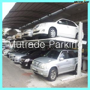 2 Floor Home Passenger Car Parking Lift pictures & photos