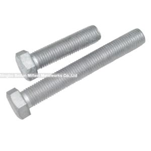 DIN933 Hex Bolts Zinc Plated pictures & photos