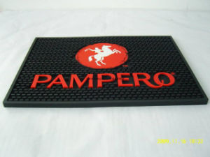 Customs PVC Rubber Bar Mat for Promotion Gift pictures & photos