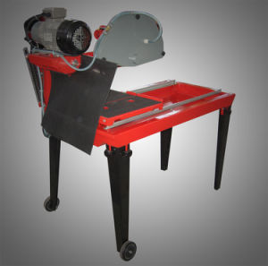 4kw Industrial Wet Cutting Stone Saw with Belt Driving Blade