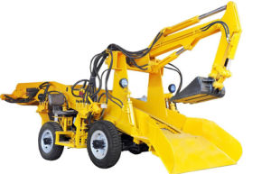 Strong Climbing Capacity Zl-80 Type Mucking Loader for Construction Industry pictures & photos