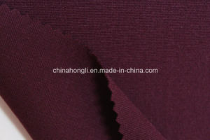 40s R/N/Sp 60/33/7, 280GSM, Ponte-Roma Solid Knitting Fabric pictures & photos
