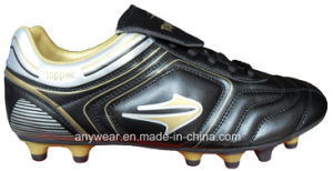 Men′s Soccer Football Boots with TPU Outsole Shoes (815-8412) pictures & photos