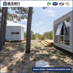 Easy Assembled Prefabricated Steel Frame Container Home with Living Room pictures & photos