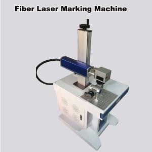 10W/20W Fiber Metal Laser Marking Machine pictures & photos