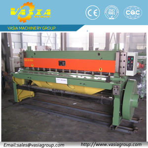 6mm Plate Shearing Machine with Best Quality From Vasia Machinery pictures & photos