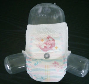Breathable Backsheet Disposable Baby Diaper pictures & photos