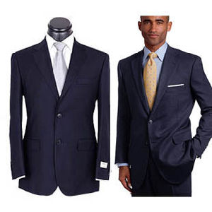 100% Wool Made to Measure Men′s Suit pictures & photos