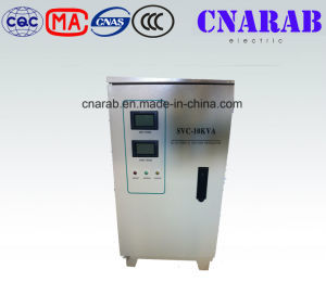 Three Phase Automatic Voltage Stabilizer with LCD Display pictures & photos