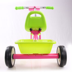 2016 Simple Design Steel Frame 3 Wheels Children Tricycle pictures & photos