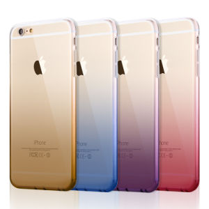 Gradient TPU Gel Case Soft Dual Silicon Cover for iPhone