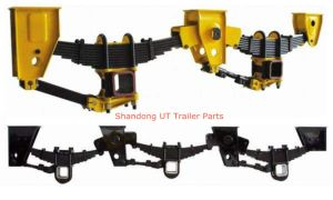 Germany Type Tandem Trailer Axle Mechanical Suspension pictures & photos