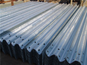 High Quality Galvanized Highway Steel Guardrail pictures & photos