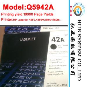 Compatible HP Q5942A / HP Ce390A Laser Toner Cartridge (Original cartridges) pictures & photos