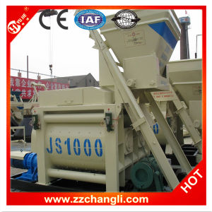 Js1000 Twin Shaft Concrete Mixer for Concrete Mixing Plant pictures & photos