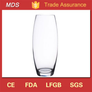 Wedding Decoration Rounded Shape Clear Flower Glass Vase pictures & photos