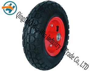 Wear-Resistant Rubber Wheel for Platform Trucks Wheel (3.50-6) pictures & photos