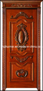 Wooden Door (DH-03) , Solid Wooden Door, High Quality Wooden Door