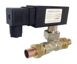 Red Copper Pipe Inline Flow Switches (GE-315WD)
