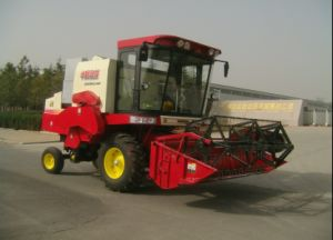 Wheel Type Wheat and Rice Mini Combine Harvester pictures & photos
