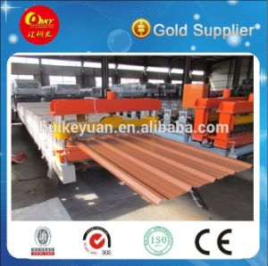 Trapezoidal Roofing Sheet Roll Forming Machine pictures & photos