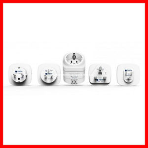 2X USB 5V 2.1A Germany Schuko Socket to European, Us, UK, Australia, India, South Africa, Sweden, Italy Plug Travel Adapter pictures & photos