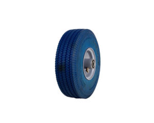 Blue PU Foam Wheelbarrow Tire pictures & photos
