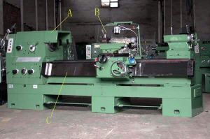 Gap Lathe 103mm Spindle Hole (Ly61/260y) pictures & photos