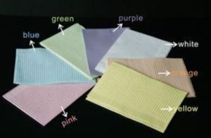 Disposable Dental Paper Bibs pictures & photos