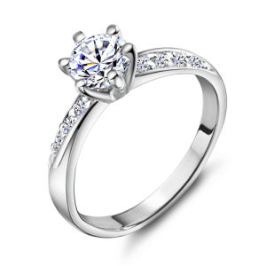 0.5CT Simulated Diamond Ring for Women Wx-Ri0048