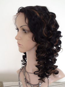 100% Virgin Brazilian Hair Full Lace Stretch Lace Wigs pictures & photos