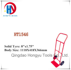 China Supplier Heavy Load Steel Hand Truck/Trolley (HT1546) pictures & photos