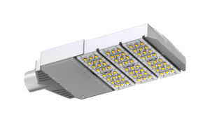 CE&RoHS High Quality LED Street Light with Meanwell Driver Bridelux 45mil LED pictures & photos