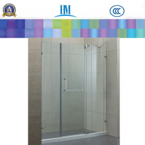 Clear Shower Enclosure Tempered Glass pictures & photos