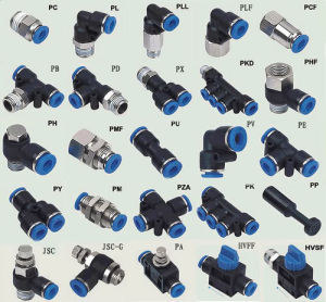 One-Touch Tube Fittings / Push in Fittngs / Pneumatic Fittings pictures & photos