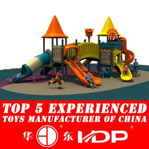 2014 Plastic Playground Material and Outdoor Playground Type Kids Toys (HD14-106A) pictures & photos