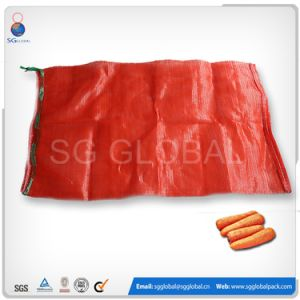 Red 29X72 PP Tubular Mesh Bag for Potato pictures & photos