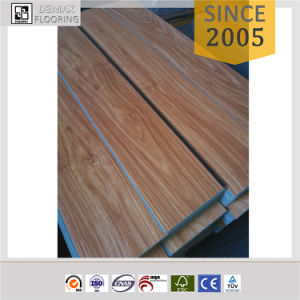 Embossed Wood Grain Pattern 5mm Click PVC Vinyl Plank Flooring pictures & photos