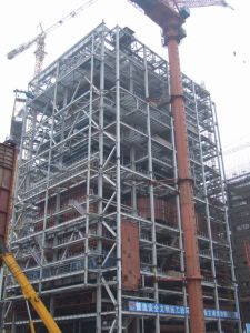 Premium Quality Power Plant Steel Structure pictures & photos